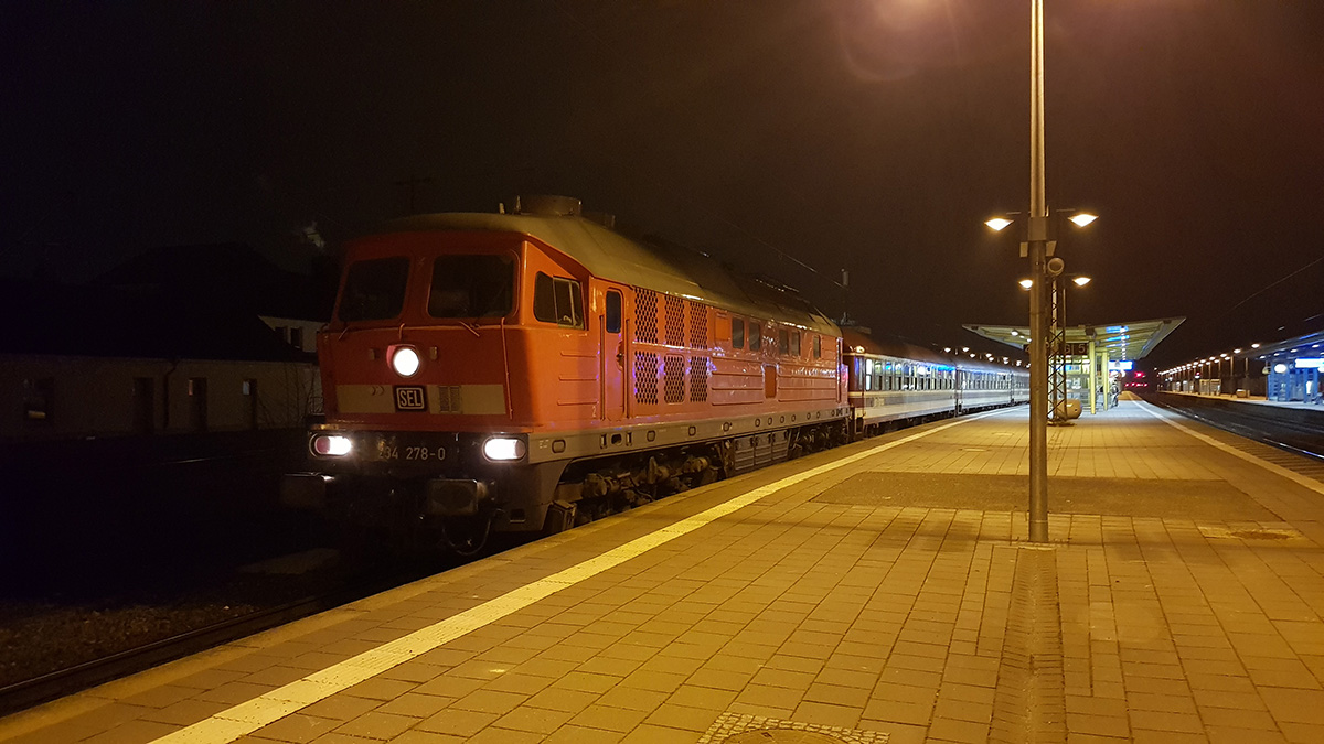 Foto: Thomas Boldt - Sonderfahrt von Kiel nach Werningerode am 15.12.2018