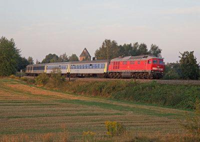 Foto: Toni Arnold - Lok 234-278, RE 6 zwischen Leipzig und Chemnitz