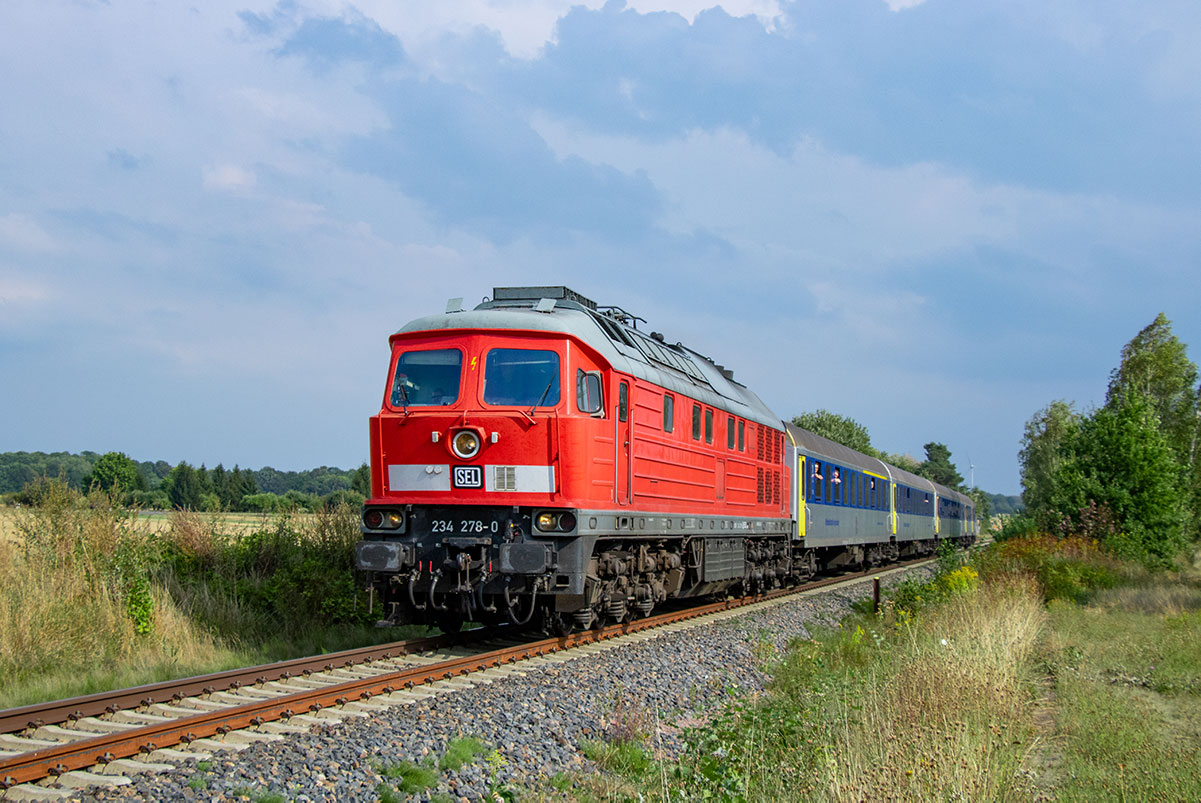Foto: Christian Bauer - 234 278 im RE6-Einsatz bei Hopfgarten am 01.09.2019