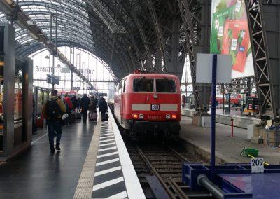 Übernahme der Lok 181-215 am 30.10.2019 von der DB-Fernverkehr in Frankfurt/Main_03
