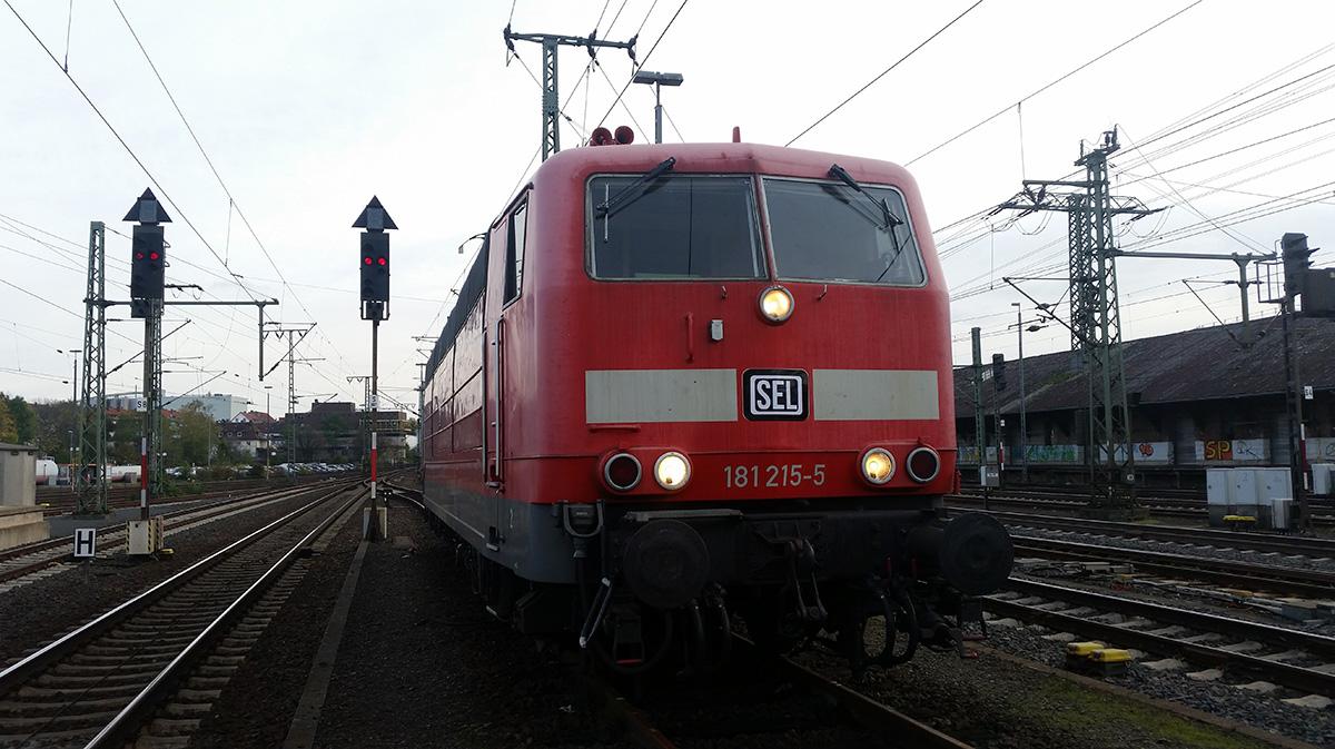 Überführung von Frankfurt nach Neumünster - Zwischenhalt Bhf. Fulda am 30.10.2019