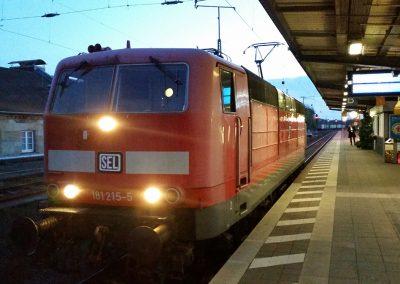 Überführung von Frankfurt nach Neumünster - Zwischenhalt Bhf. Göttingen am 30.10.2019